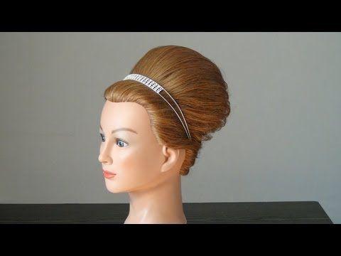 Wondrous Pricheska Frantsuzskaya Rakushka French Twist Hairstyle For Medium Short Hairstyles Gunalazisus