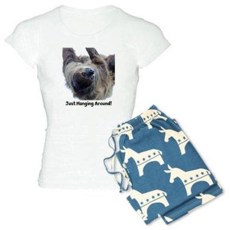 Cafepress Personalized Just Hanging Around! Sloth Women's Light Pajamas, Size: 2XLarge (+$3.00)