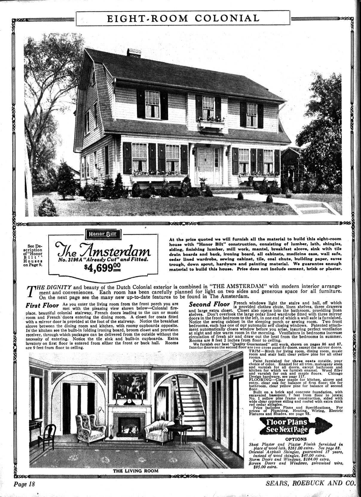 1925 3196a Jpg 1208 1661 Dutch Colonial Homes Vintage House Plans Colonial House