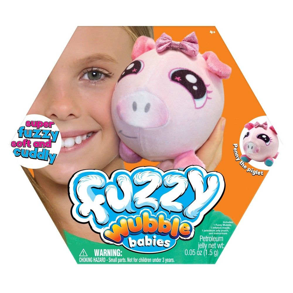 Wubble Fuzzy Boy Piglet Baby Piglets Piglet Fuzzy