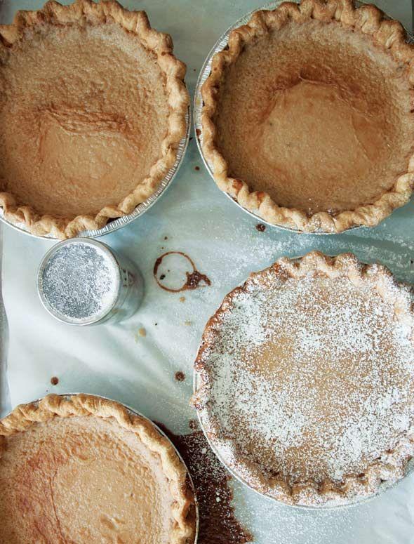 Hoosier Sugar Cream Pie #sugarcreampie