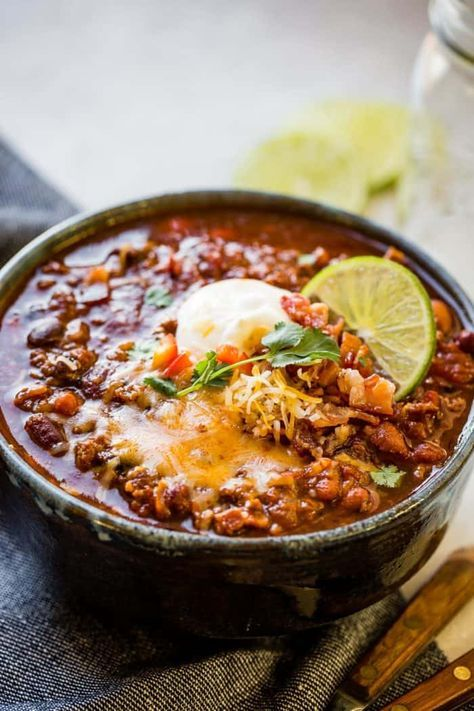Award Winning Instant Pot Chili Recipe