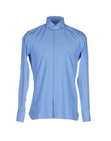 FLOWERS Men's Shirt Azure 15 ½ inches-neck