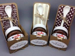 Kleine Weihnachtsgeschenke Für Kollegen Selber Machen.Nerven Nahrung Mini Nutella Boxes Gesch