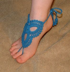 """So Cute Childrens Barefoot Sandals Shoes Beachwear Footwear Jewelry"". If you want your kid to get beat up.  Daily."
