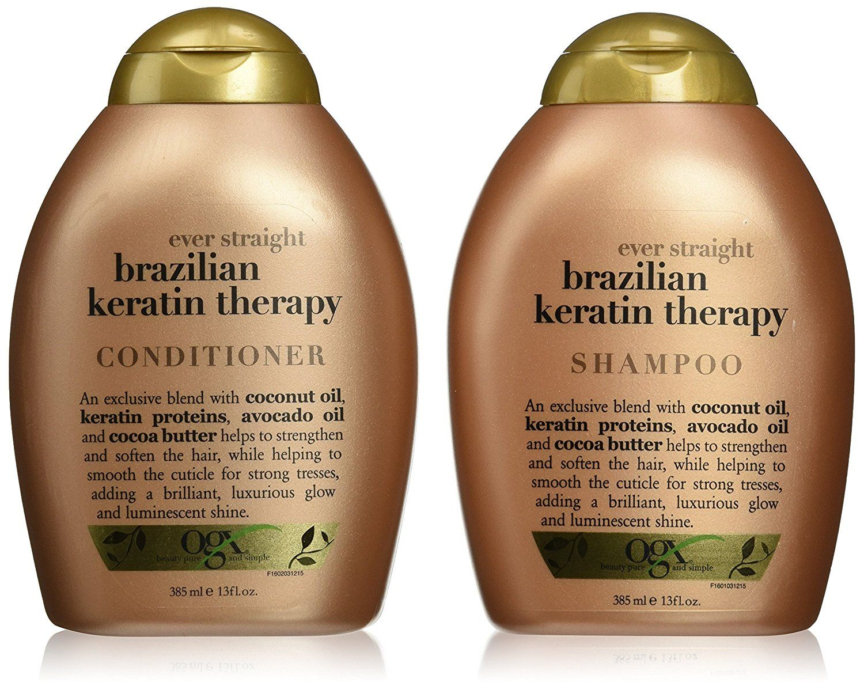 Organix Brazilian Keratin Therapy Shampoo And Conditioner This