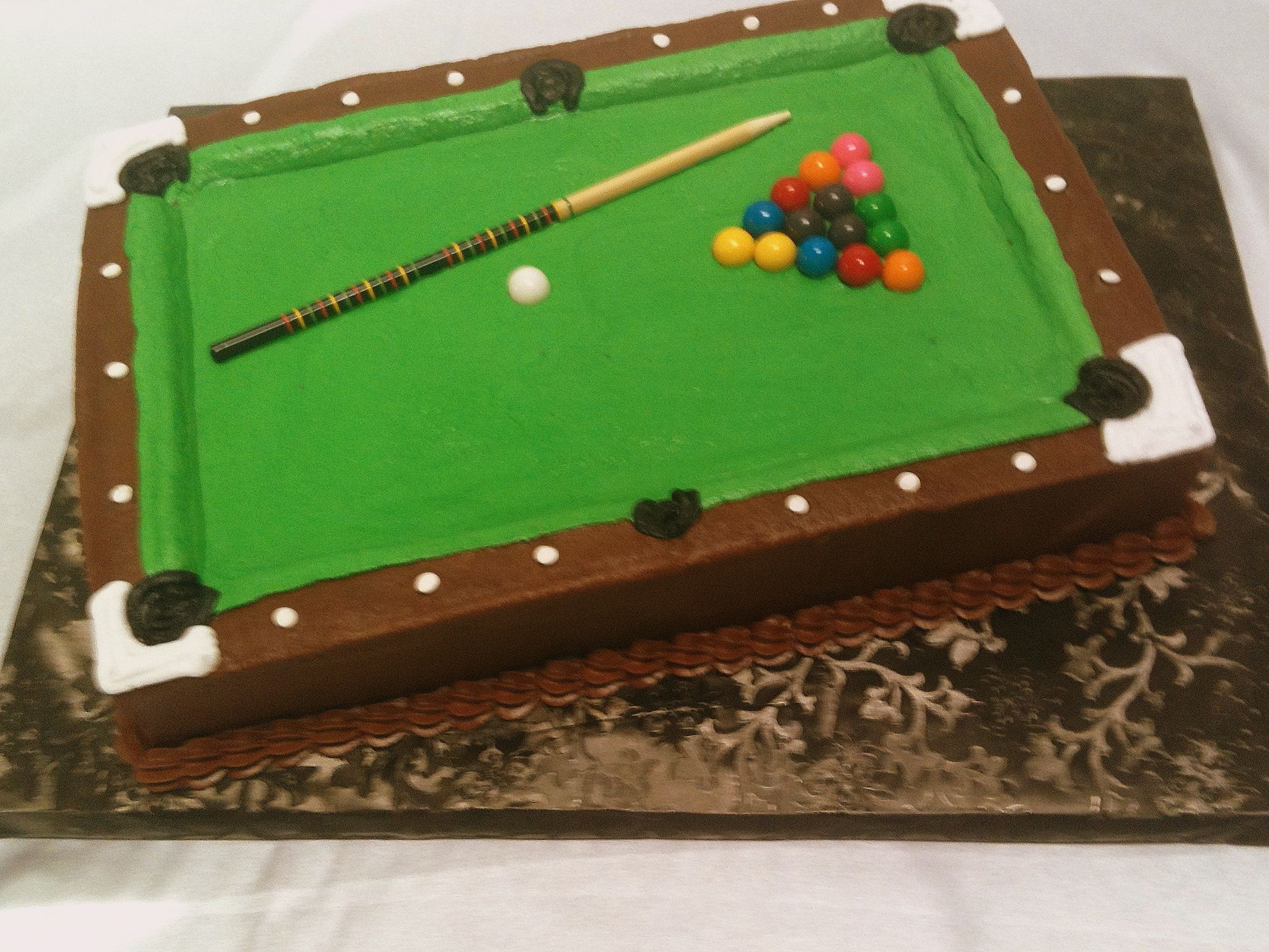 Billiard Cake Ideas