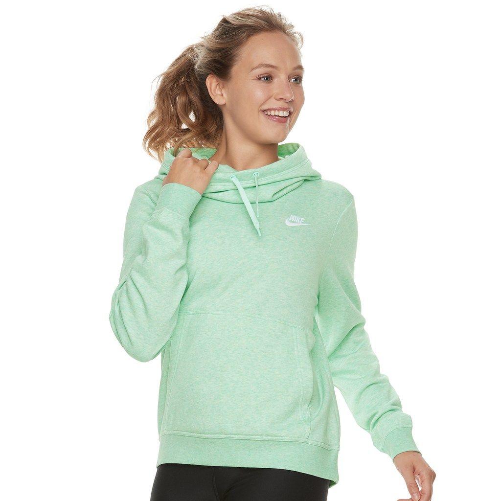 Nike Damen Sportswear Funnel-Neck Hoodie Sweat Training Gym Damen Sport