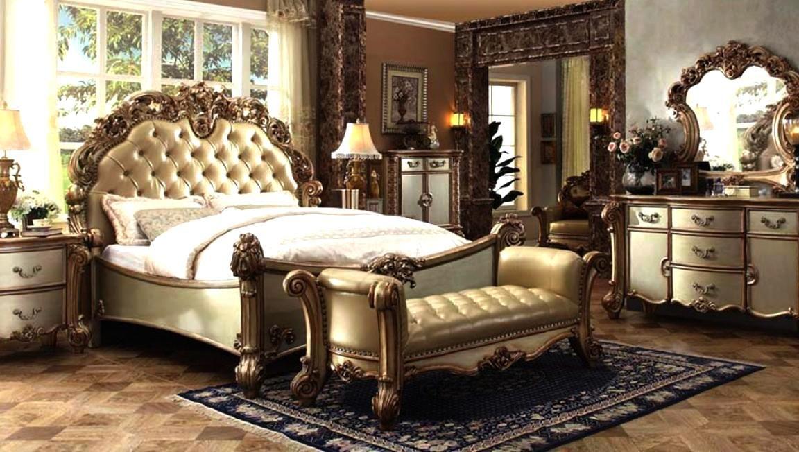 Elegant Queen Bedroom Sets For Master Room Gold Bedroom Luxurious Bedrooms Bedroom Set