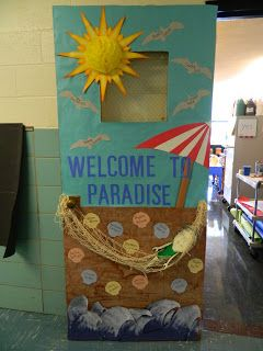 Welcome To Paradise With Images Beach Theme Classroom Ocean