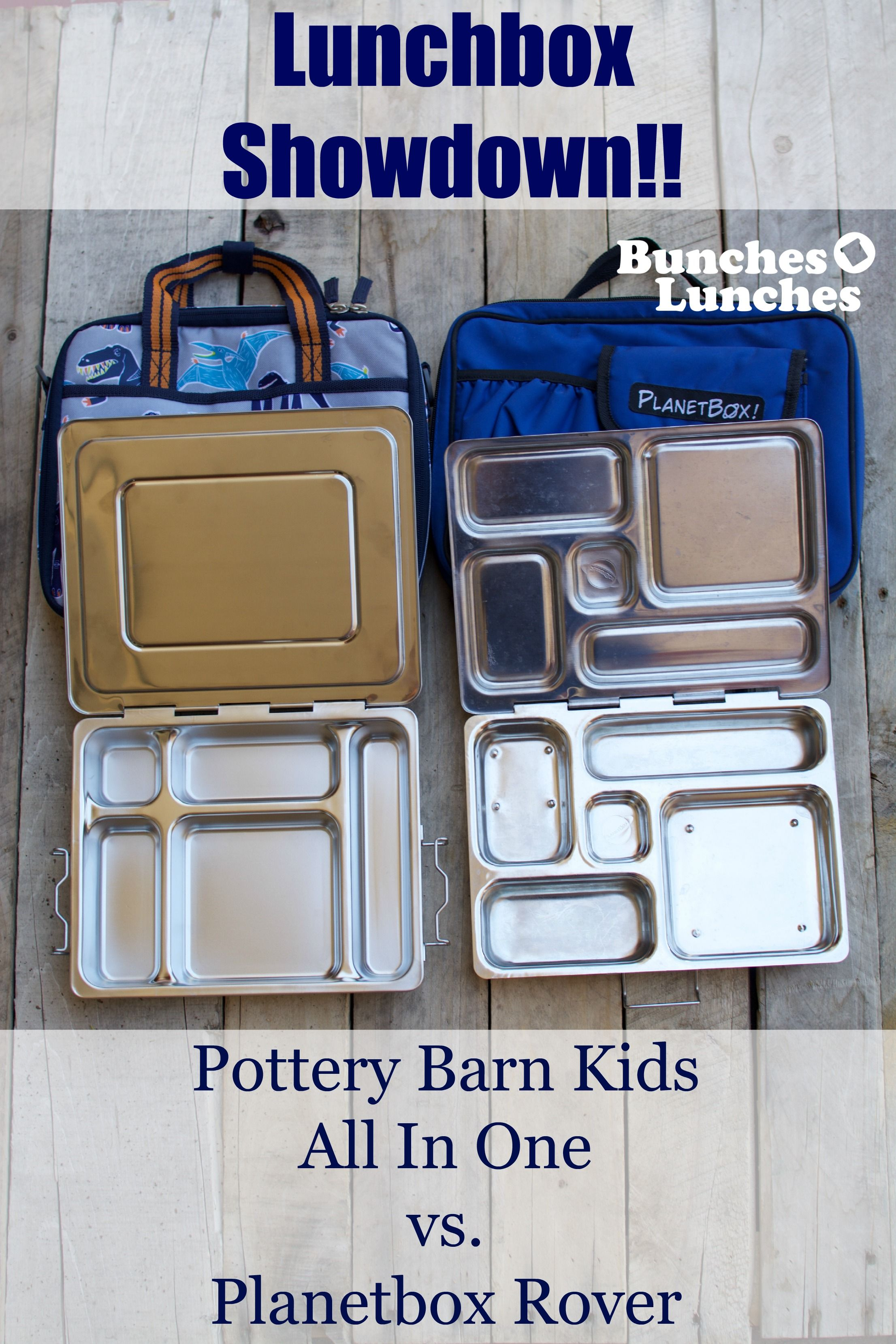 Pottery Barn Kids All In One Lunchbox V Planetbox Rover