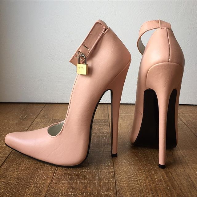 3d22dc12d03 Refuse to be Usual made to order matte piggy pink 18cm stiletto ...