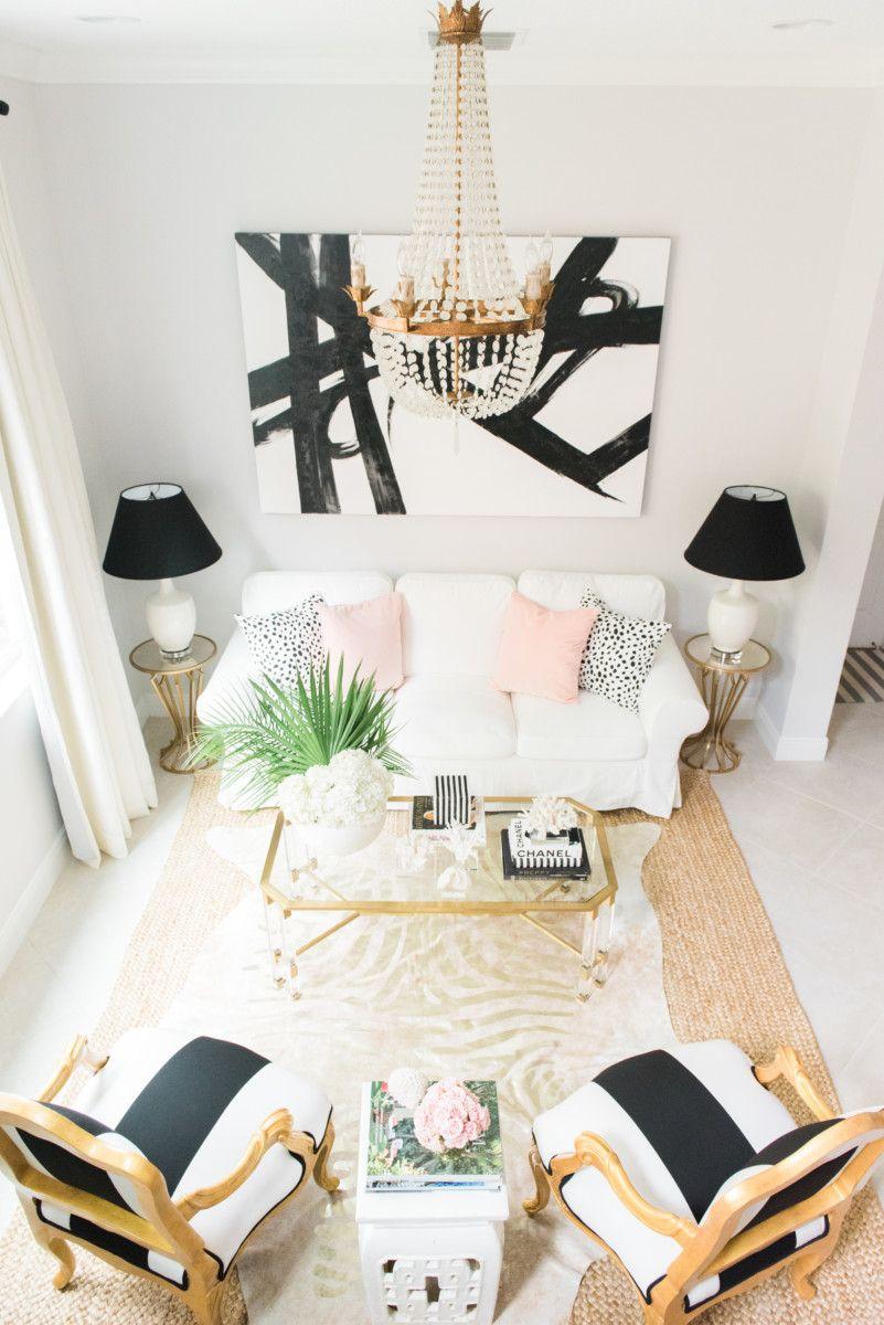 Room Tour: Decorating Palm Beach   Tropical vibes, Palm beach and Palm