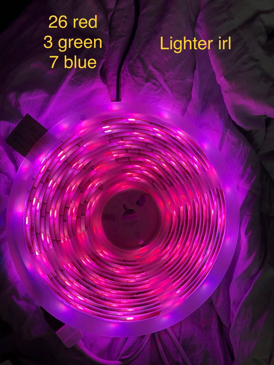 Pin By Ahannabanana On Led Lights In 2020 Led Lighting Bedroom Led Light Strips Diy Led Room Lighting