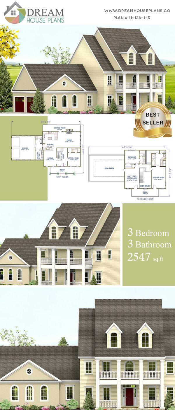 3 Bedroom 3 Bathroom 2547 Sq Ft 11 12a 1 5
