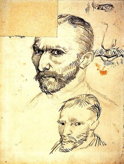 Van Gogh Self-portrait, 1887 - 19