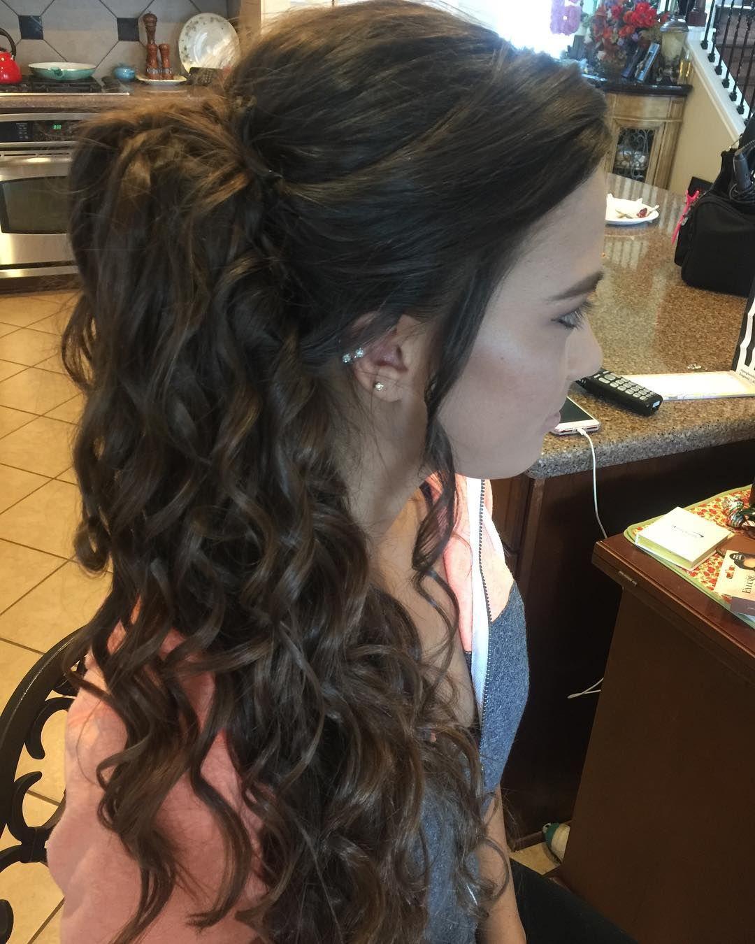 Prom hair i did promhair promhairstyles hairdonebyme houstonhair