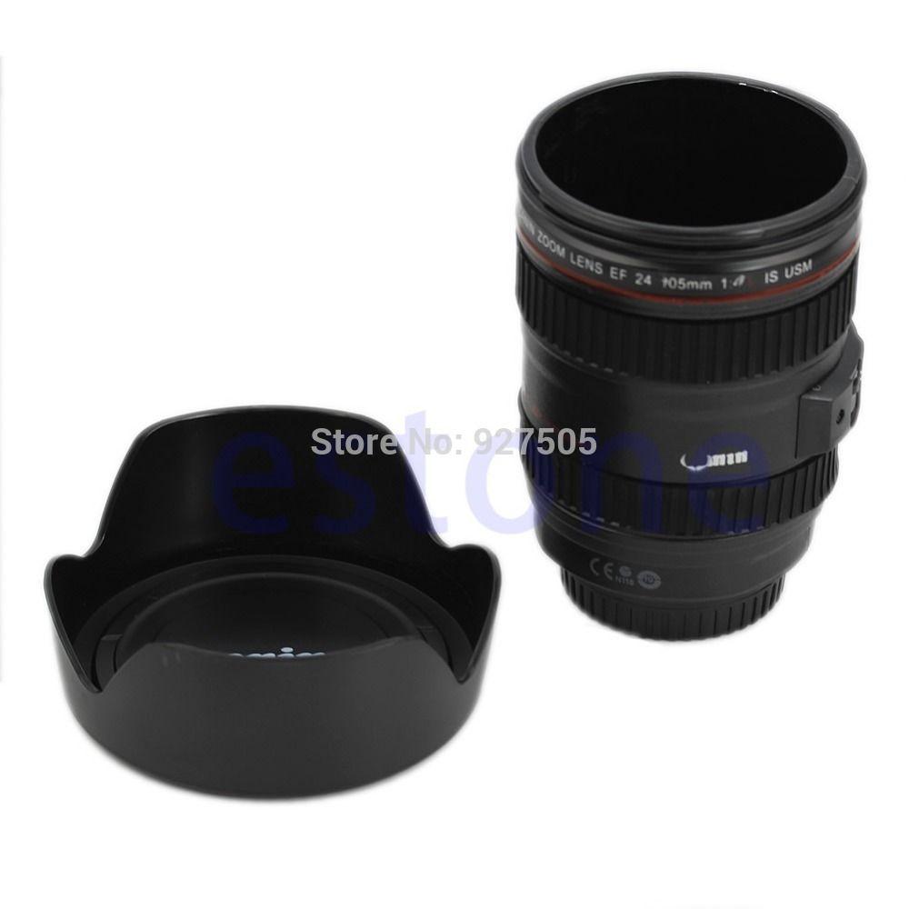 S72 Hot venda câmera Caniam EF 24 105 mm água caneca de chá de café gancho tampa de garrafa térmica em Canecas de Casa & jardim no AliExpress.com | Alibaba Group