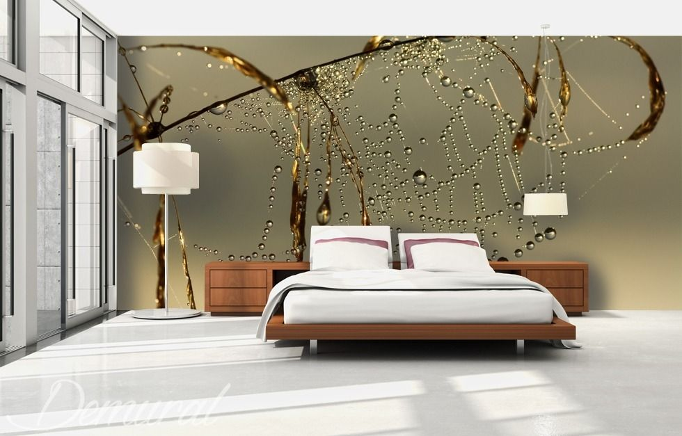 In The Net Of Dreams Bedroom Wallpaper Mural Photo Wallpapers