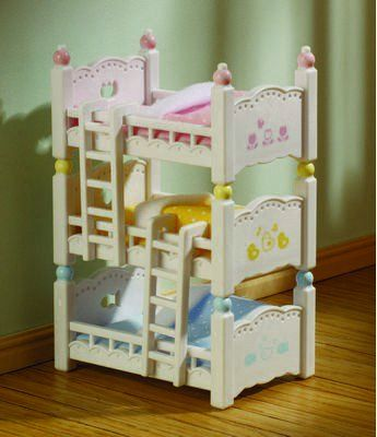 Sylvanian Families CHILDREN/'S BEDROOM FURNITURE SET 4254 Calico Critters