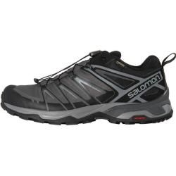 Photo of Salomon men's lightweight hiking shoes X Ultra 3 Gtx®, size 46 in Black / Magnet / Quiet Shade, size 46 in