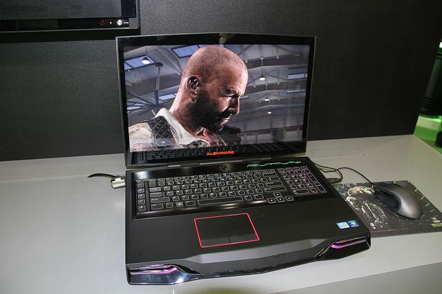#Alienware M18x notebook with...    game changer...comment .. like ...  repin  :)     http://amzn.to/15zqnzs