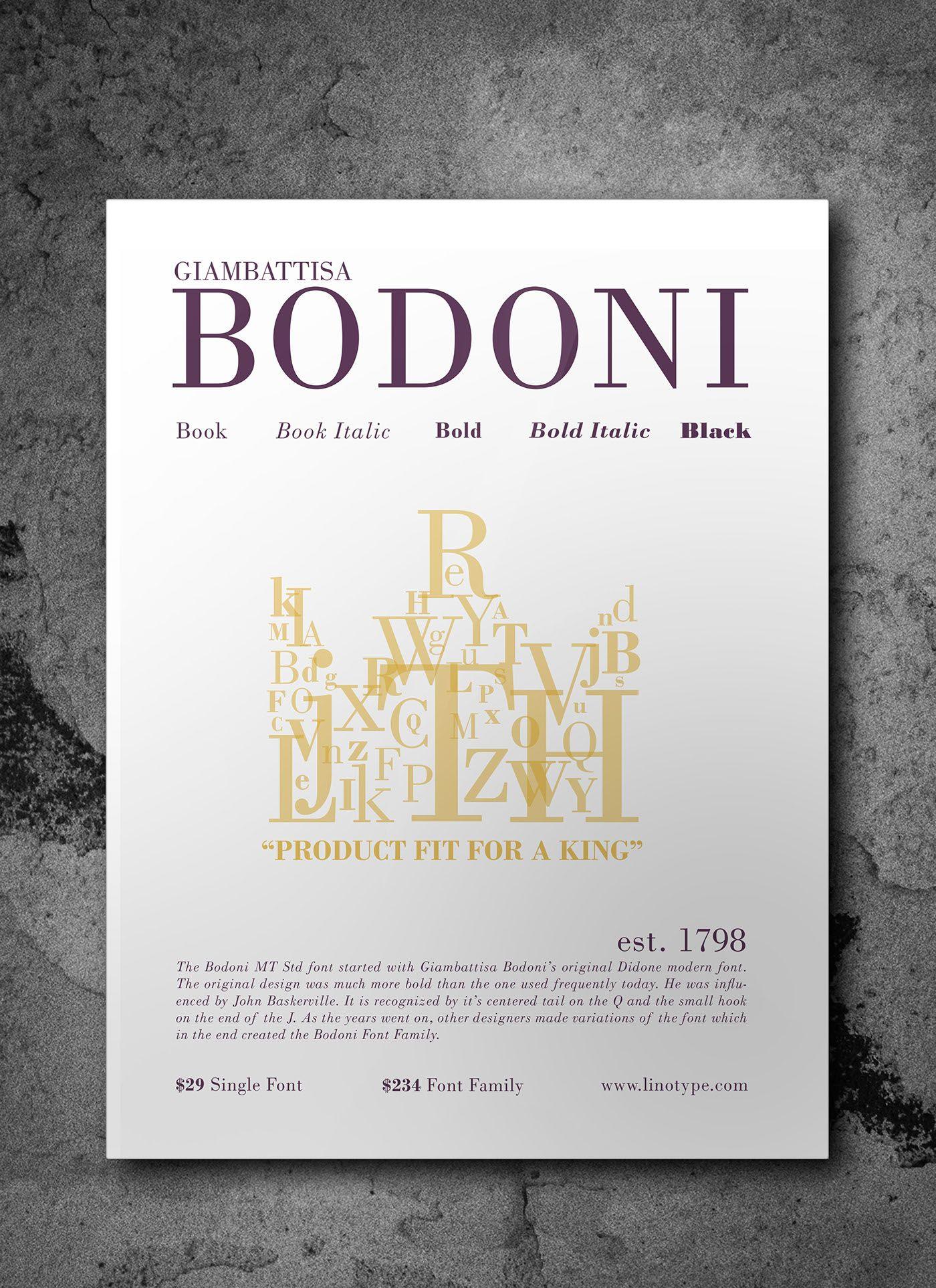 Bodoni Mt Bold