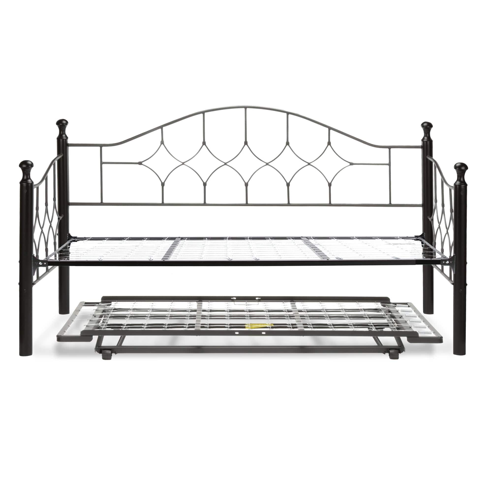Fashion Bed Group Bianca Complete Metal Daybed With Link Spring