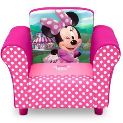 Minnie Mouse Stoel.Delta Children Disney Minnie Mouse Upholstered Chair In Pink