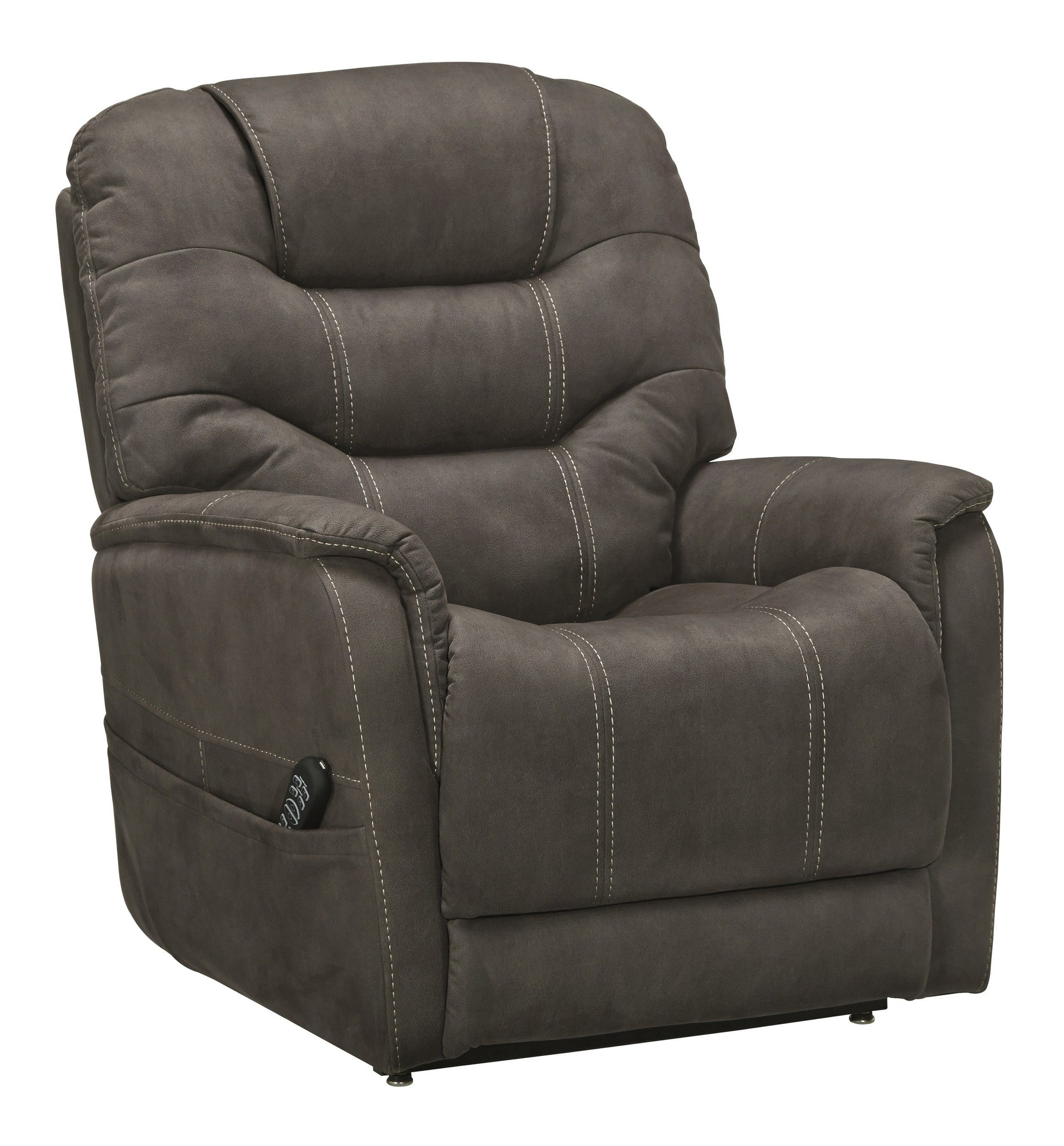 Signature Design By Ashley Ballister Espresso Power Lift Recliner