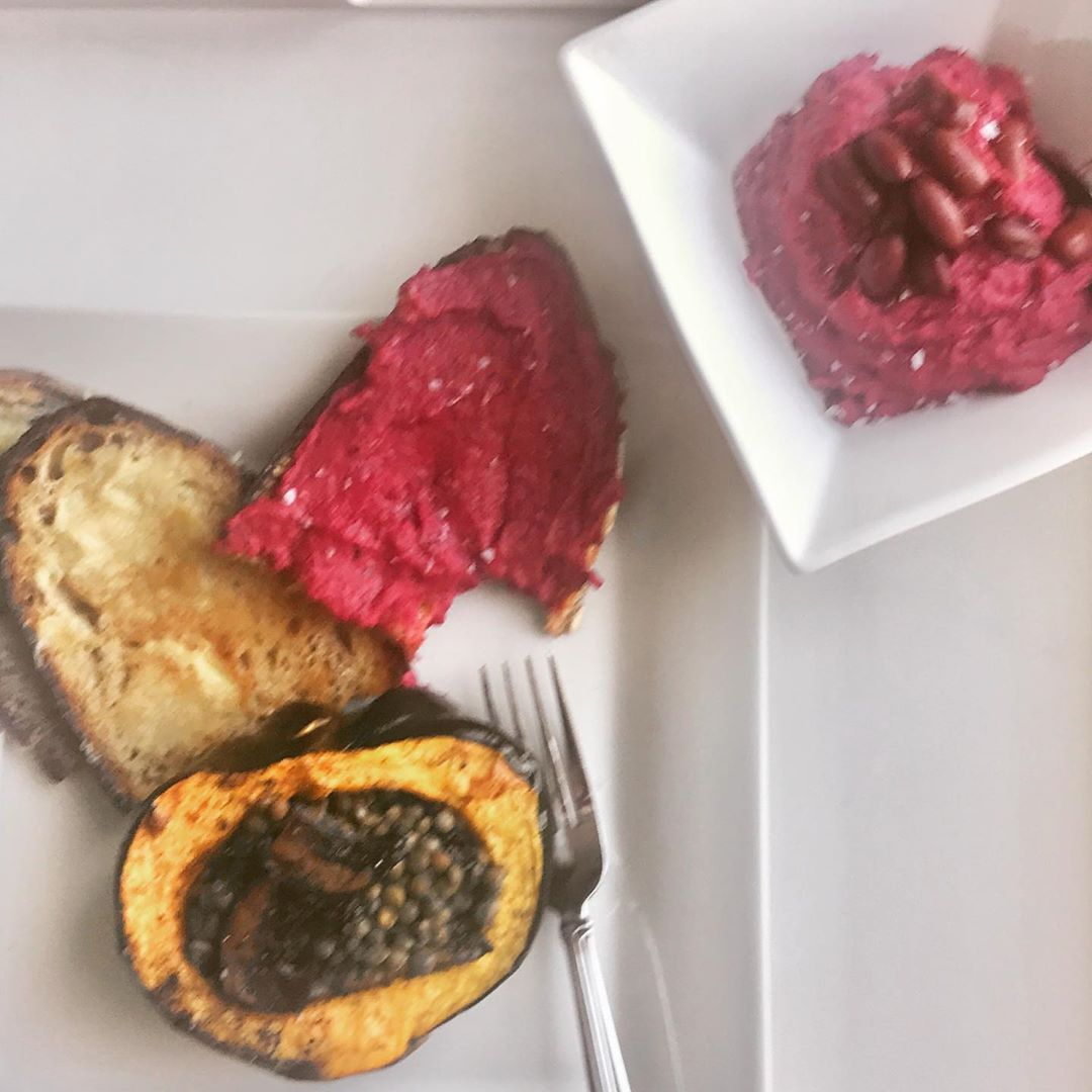 Can You Call It Hummus If It Doesn T Have Tahini I Don T Know I Took A Can Of Hummus Tahini Roasted Beets