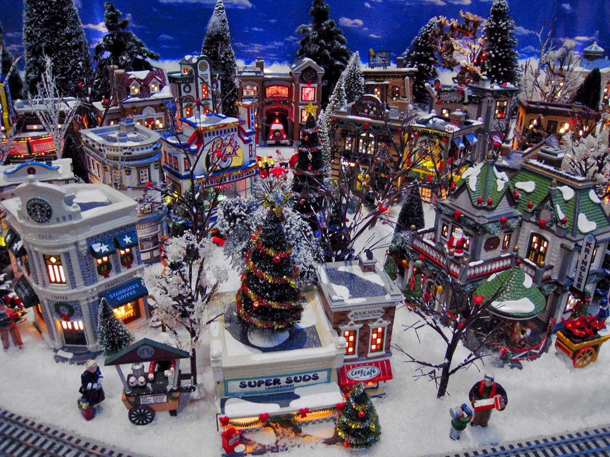 santa town - Google Search | Santa Village | Pinterest
