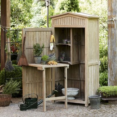 gartenschrank aus massivem teakholz isn t that crazy a closte for the garden usd. Black Bedroom Furniture Sets. Home Design Ideas
