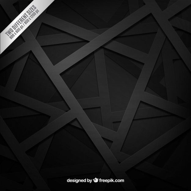 Black Background In Geometric Style Free Vector Black Abstract