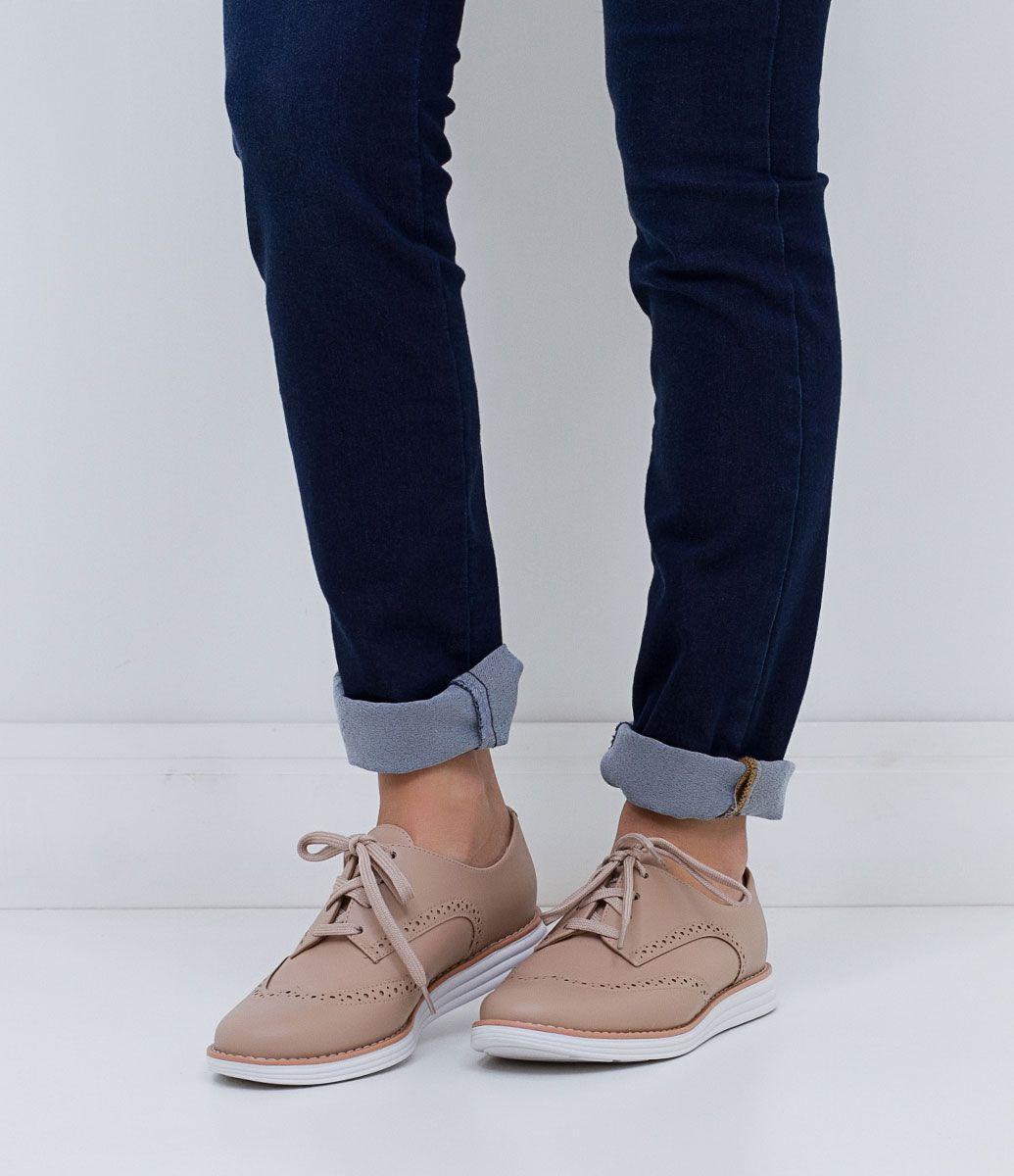17c2cfb6b Sapato feminino Material: sintético Oxford Marca: Vizzano COLEÇÃO INVERNO  2016 Veja outras opções de sapatos femininos.