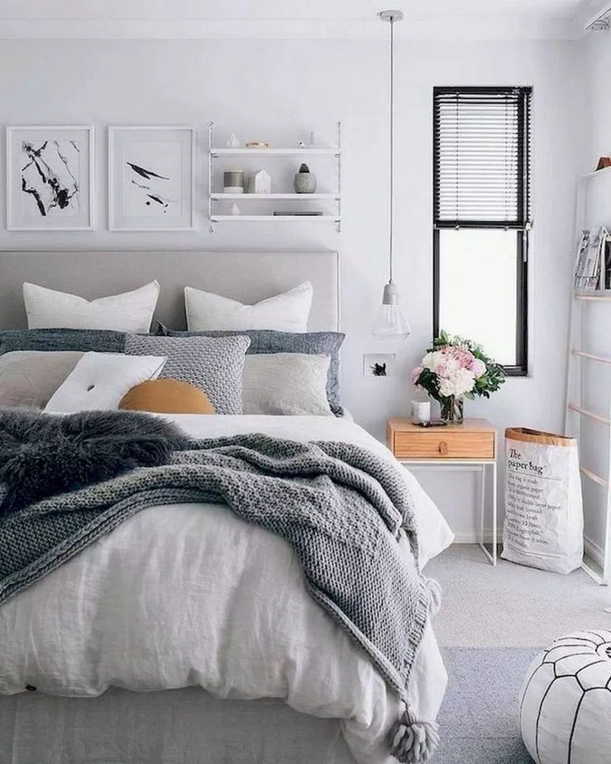 50 Awesome Decoration Ideas To Make Your Bedroom Cozy And Warm 2019 9 Remodel Bedroom Bedroom Design Trends Bed Linens Luxury