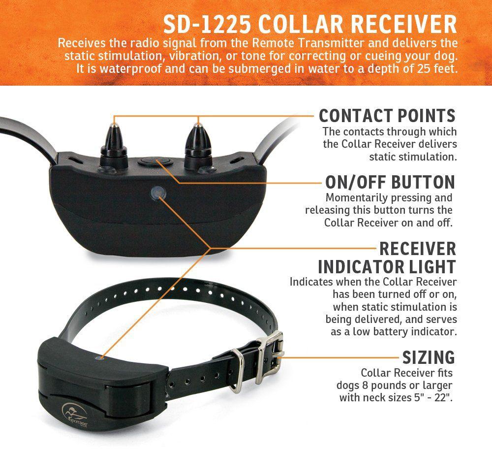 Sportdog Brand Prohunter 2525 Remote Trainer 2 Mile Range