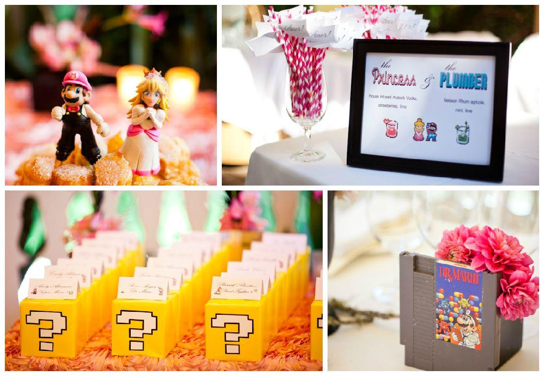 12 Adorably Geeky Wedding Themes Via Brit Co Cute Pinterest