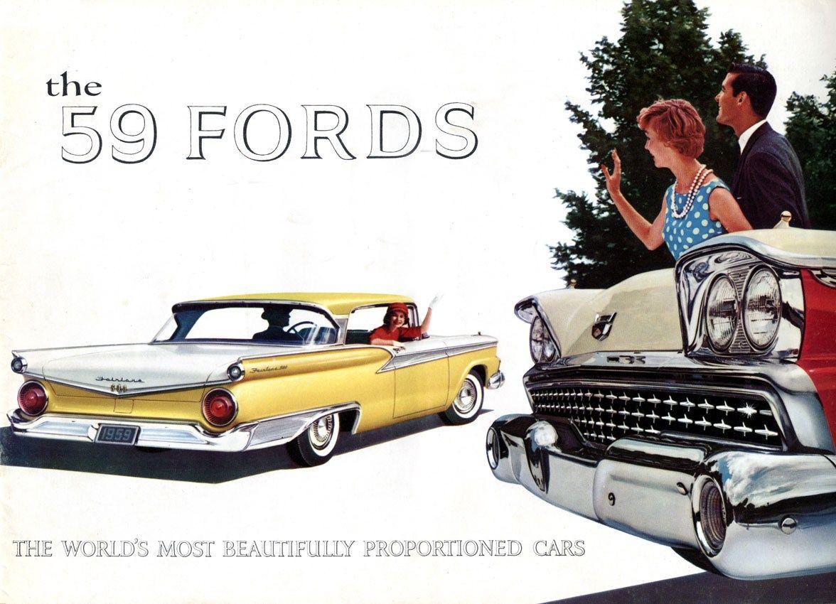 1959 Ford http://blog.stevenatale.net/409-2/ #ford #classiccar ...