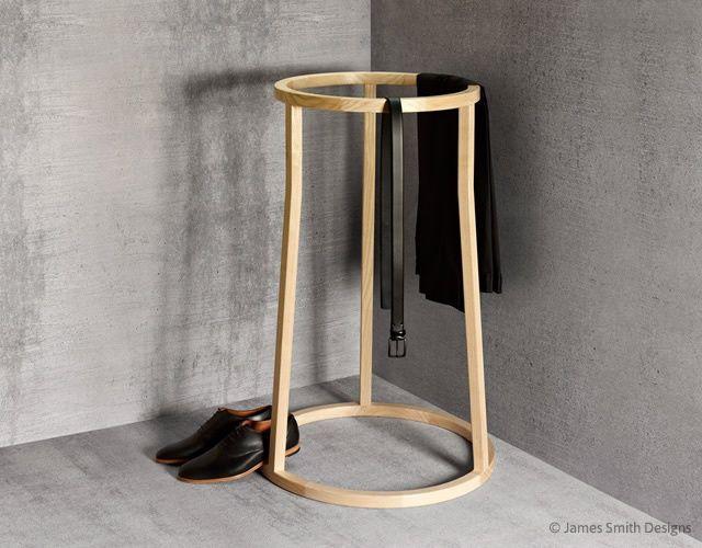 Uma - Holz ist genial!Holz ist genial! stummer diener - designer kleiderstander buchenholz