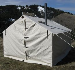 Sears Magnum Canvas Wall Tent & Sears Magnum Canvas Wall Tent | stuff | Pinterest | Canvas wall ...