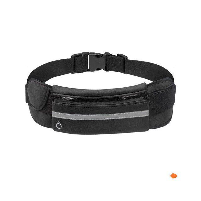 Portable convenient usb waist packs men women bum bag travel pouch belt casual zipper