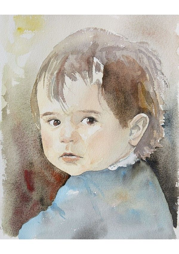 Les Portraits Collection Je Peins En 2020 Portraits Aquarelle
