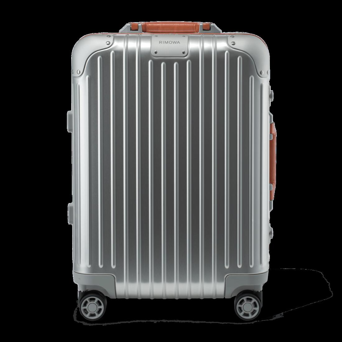 Original Cabin Twist Suitcase In Silver Brown Rimowa Rimowa Rimowa Luggage Carry On Suitcase