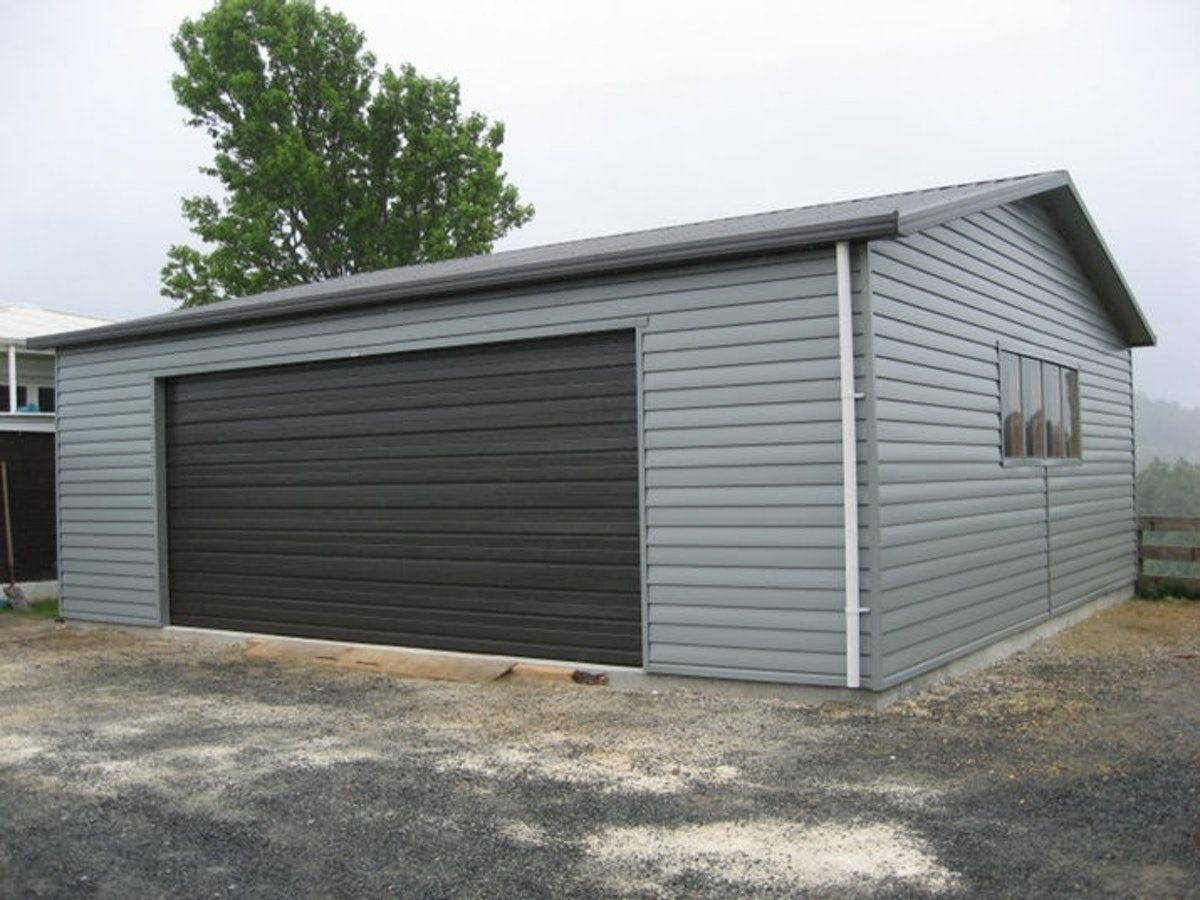 Double Garage Versatile Garage Coloursteel Versatile