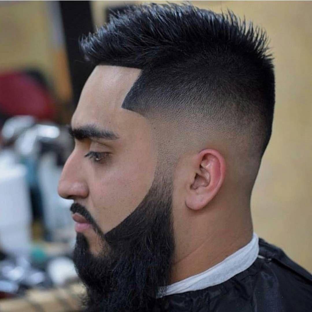 Low Bald Fade With Perfect Beard Fade Haircuts With Beards
