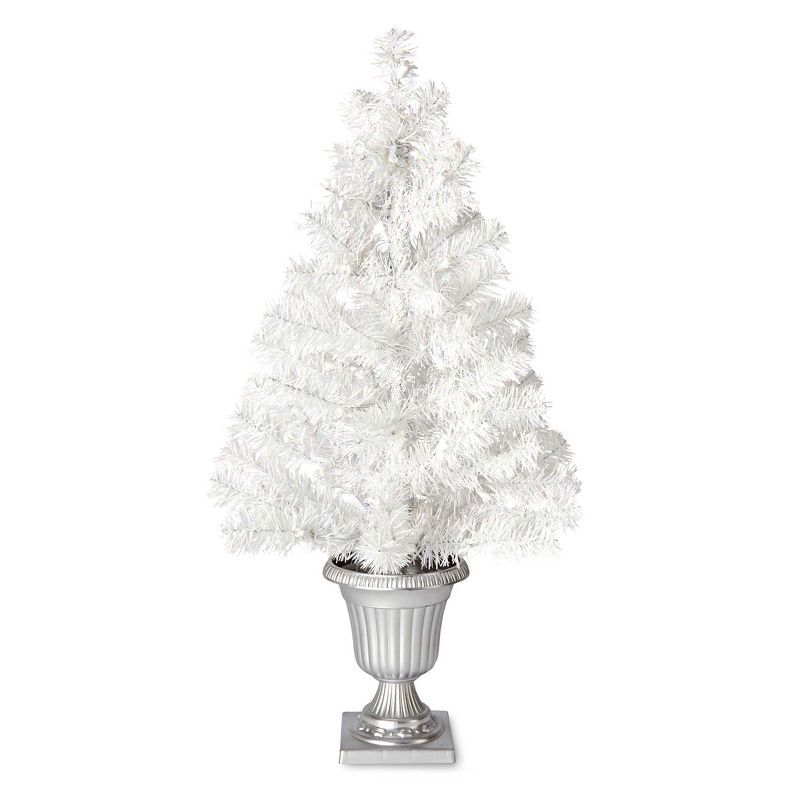 jcpenney - MarthaHoliday? Arctic White Tinsel Tabletop Christmas Tree - jcpenney