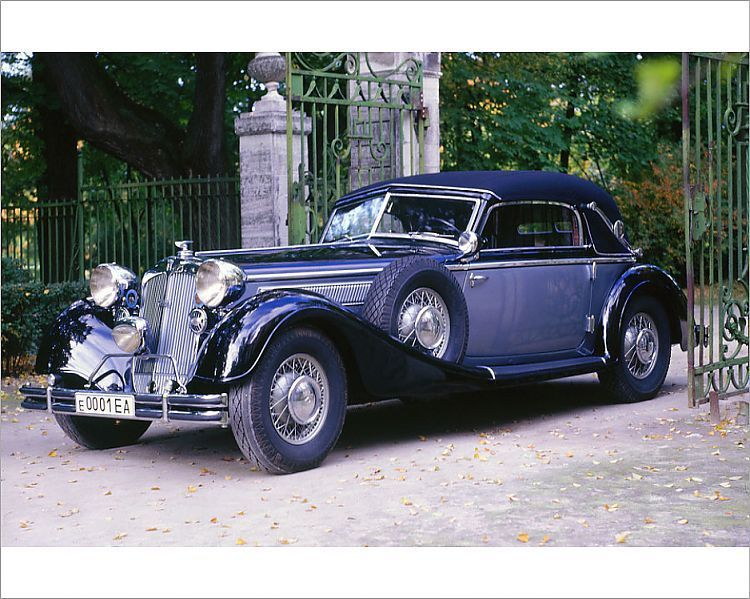 """Photograph1938 Horch 853. Creator Unknown10""""x8"""" Photo"""