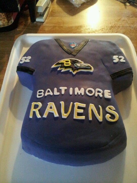 Baltimore Ravens Jersey Cake Baltimore Ravens Cake Football