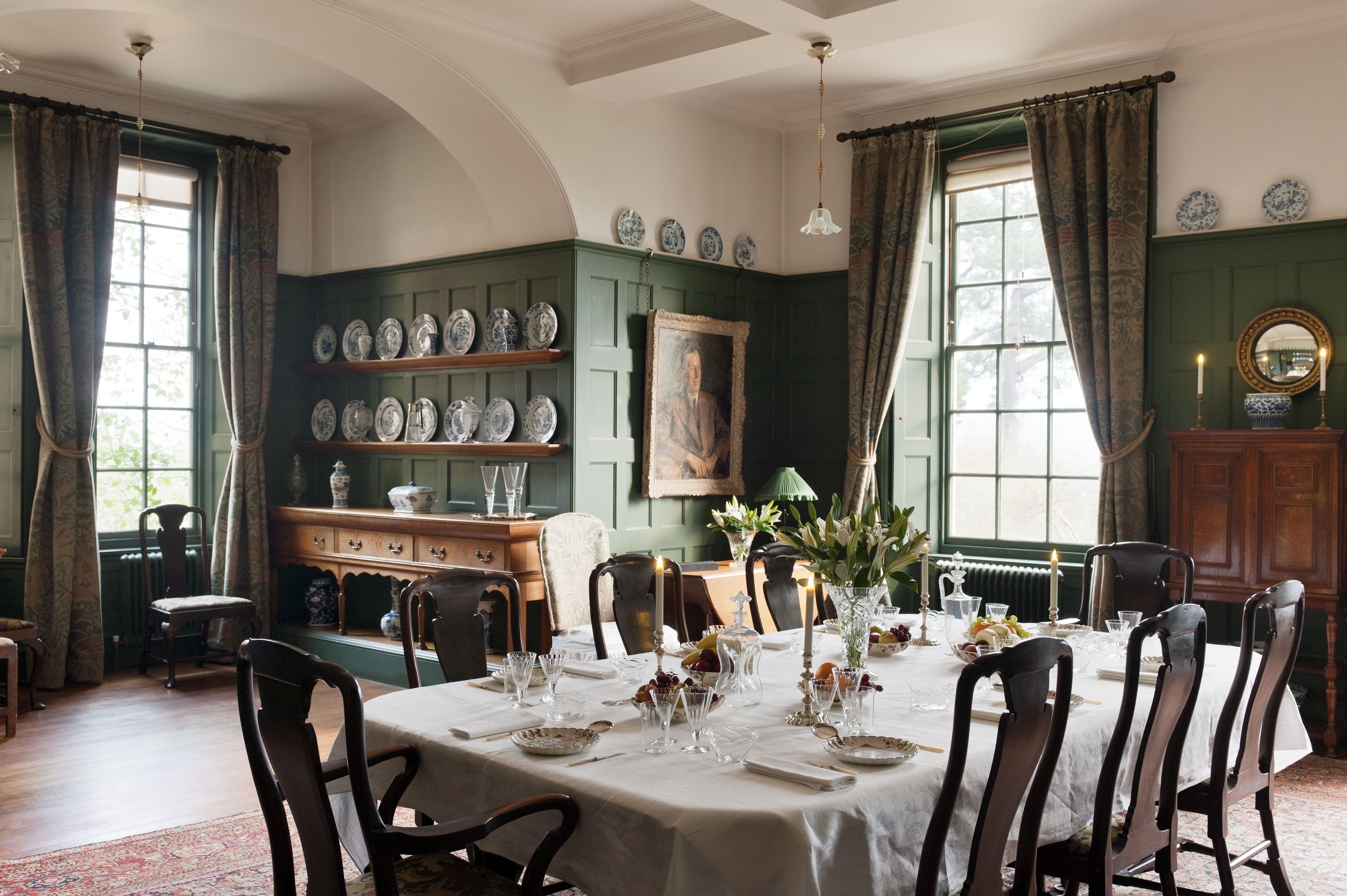 The Dining Room At Standen West Sussex